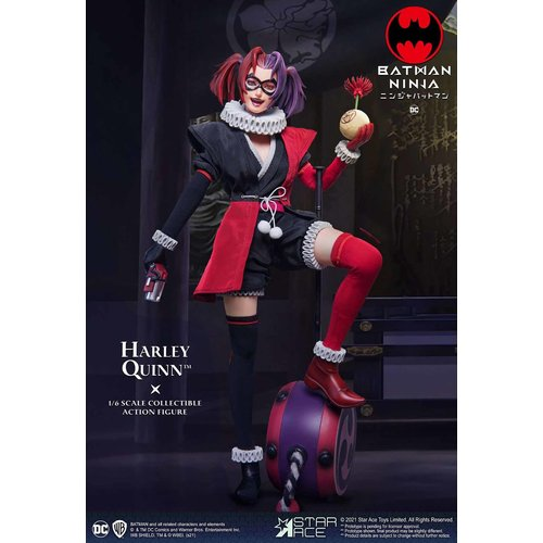 Star Ace DC Comics: Batman Ninja Movie - Deluxe Harley Quinn 1:6 Scale Figure