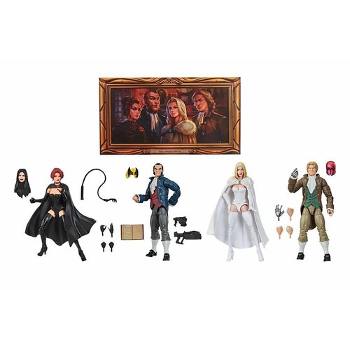 HASBRO Marvel Legends Series: The Hellfire Club Collection Figures