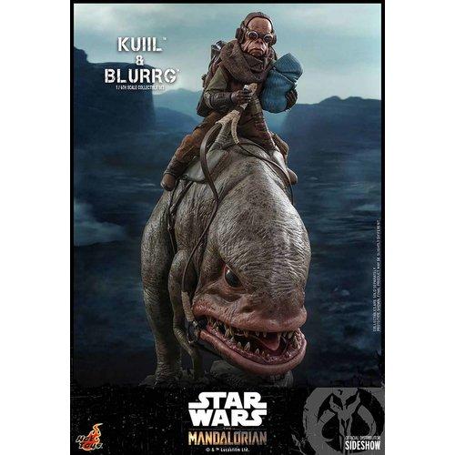 Hot toys Star Wars: Kuiil and Blurgg 1:6 Scale Figure Set