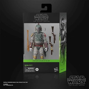 HASBRO Star Wars: The Black Series - Boba Fett  Deluxe Figure
