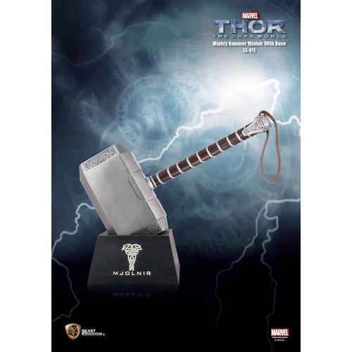Beast Kingdom Marvel: Thor 2 - Mighty Hammer Mjolnir Life Sized Replica with Base
