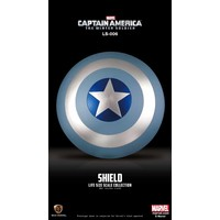 Marvel: Captain America Winter Soldier - Vibranium Shield Winter Soldier Edition Life Sized Replica