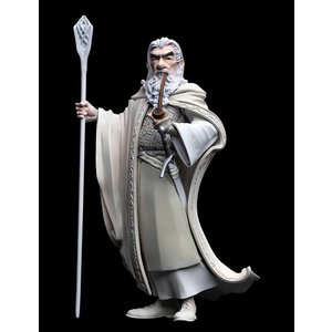 WETA Workshops The Lord of the Rings: The Two Towers Mini Epics Vinyl Figure Gandalf the White Exclusive 18 cm