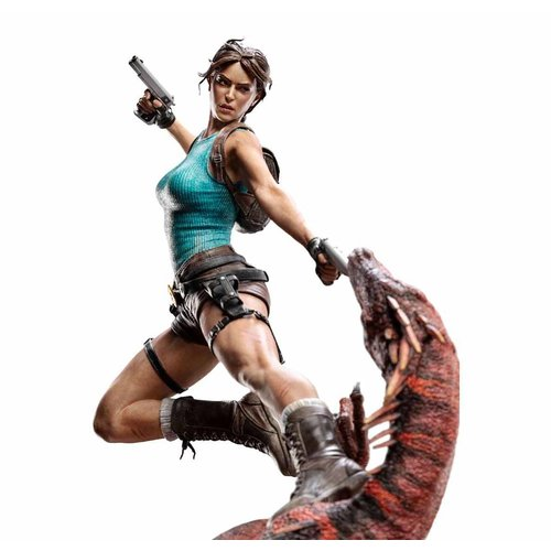 WETA Workshops Tomb Raider Statue 1/4 Lara Croft The Lost Valley 80 cm