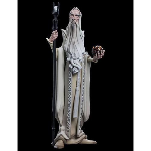 WETA Workshops Lord of the Rings Mini Epics Vinyl Figure Saruman 17 cm