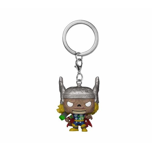 FUNKO Marvel Zombies Pocket POP! Vinyl Keychains 4 cm Thor
