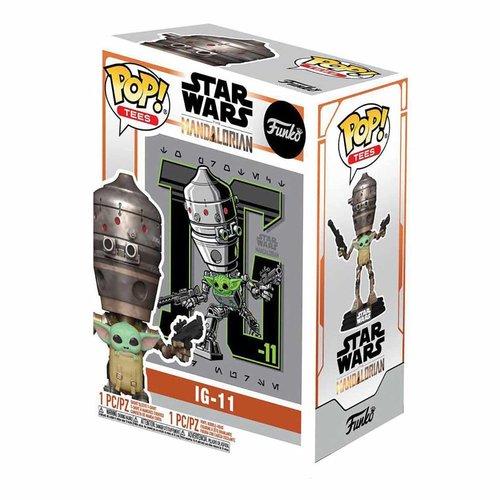 FUNKO Star Wars The Mandalorian POP! & Tee Box Child In Satchel