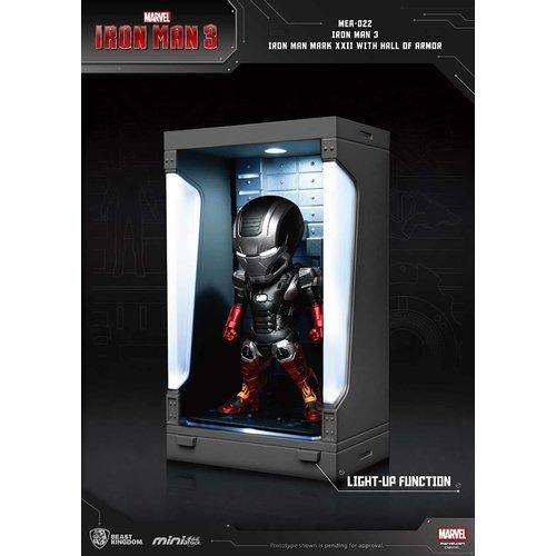 Beast Kingdom Marvel: Iron Man 3 - Iron Man Mark XXII with Hall of Armor