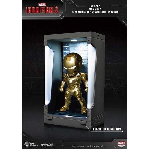 Beast Kingdom Marvel: Iron Man 3 - Iron Man Mark XXI with Hall of Armor