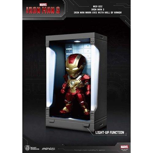 Beast Kingdom Marvel: Iron Man 3 - Iron Man Mark XVII with Hall of Armor