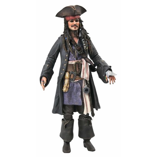 Diamond Direct Pirates of the Caribbean: Jack Sparrow 7 inch Action Figure