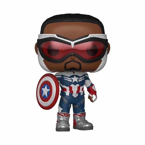 FUNKO Pop! Marvel The Falcon and the Winter Soldier - Captain America