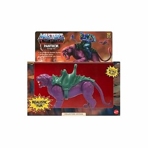 MATTEL Masters of the Universe: Origins - Panthor Flocked Collector's Edition 14 cm Action Figure