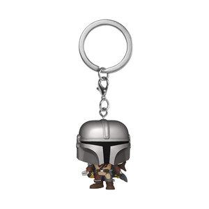 FUNKO Pocket Pop! Keychain: Star Wars The Mandalorian - The Mandalorian