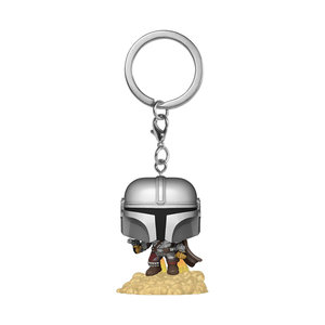 FUNKO Pocket Pop! Keychain Star Wars The Mandalorian - The Mandalorian Flying