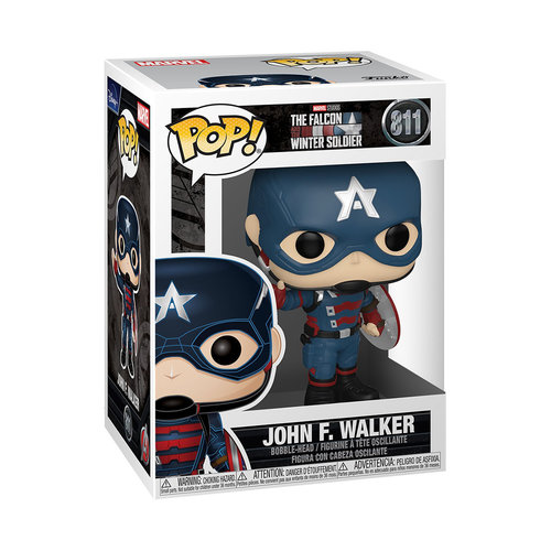FUNKO Pop! Marvel: The Falcon and the Winter Soldier - John F. Walker