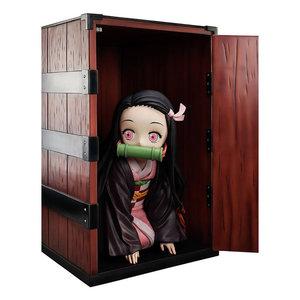 FURYU Demon Slayer: Kimetsu no Yaiba Big Size Statue Nezuko in a Box 44 cm