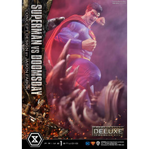 Prime 1 Studio DC Comics: Deluxe Superman vs Doomsday Concept Design Bonus Version 1:3 Scale Statue