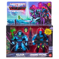 Masters of the Universe Rise of Evil Keldor and Kronis pack 2 figures