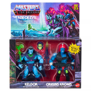 MATTEL Masters of the Universe Rise of Evil Keldor and Kronis pack 2 figures