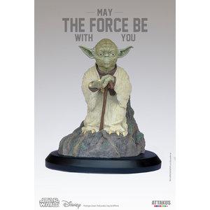 Attakus Star Wars: The Empire Strikes Back - Yoda on Dagobah 1:5 Scale Statue