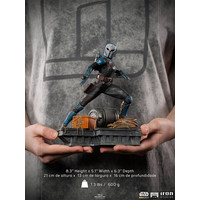 Star Wars: The Mandalorian - Bo-Katan 1:10 Scale Statue