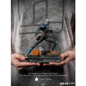 Iron Studios Star Wars: The Mandalorian - Bo-Katan 1:10 Scale Statue
