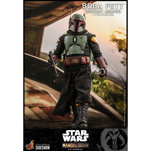 Star Wars: The Mandalorian - Boba Fett Repaint Armor 1:6 Scale Figure