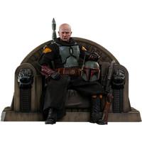 Star Wars: The Mandalorian - Boba Fett Repaint Armor and Throne 1:6 Scale Figure Set