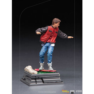 Iron Studios Back to the Future 2: Marty McFly on Hoverboard 1:10 Scale Statue