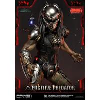 The Predator 2018: Deluxe Fugitive Predator 1:4 Scale Statue
