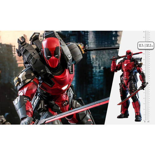 Hot toys Marvel: Armorized Deadpool 1:6 Scale Figure