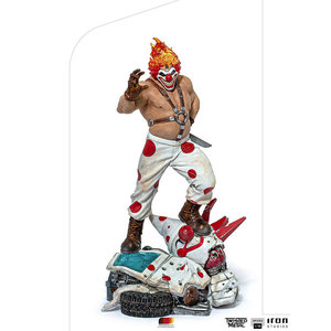 Iron Studios Twisted Metal: Sweet Tooth Needles Kane 1:10 Scale Statue