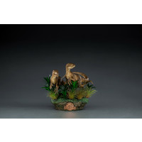 Jurassic Park: Deluxe Just the Two Raptors 1:10 Scale Statue