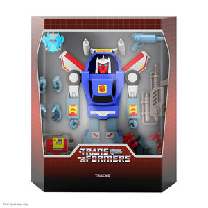 super7 Transformers: Ultimates Wave 2 - Tracks G1 Cartoon 8 inch Action Figure
