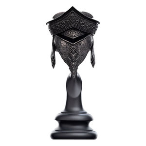 WETA Workshops The Hobbit Replica 1/4 Helm of Ringwraith of Harad 20 cm