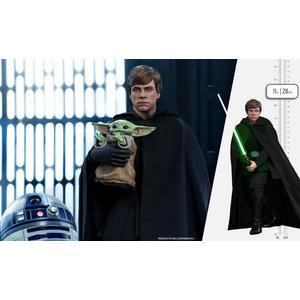 Hot toys Star Wars: The Mandalorian - Luke Skywalker 1:6 Scale Figure