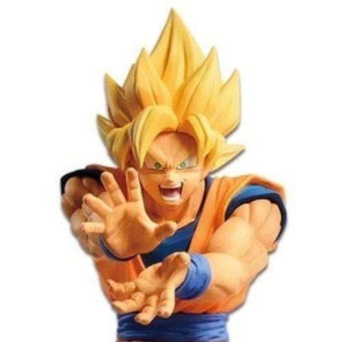 Banpresto Dragonball Z statuette PVC The Android Battle Super Saiyan Son Goku