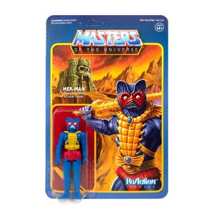 super7 Masters of the Universe ReAction Action Figure Mer-Man (Carry Case Color) 10 cm