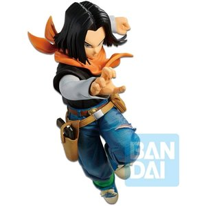 Bandai Dragon Ball FighterZ The Android Battle Android 17 Figure