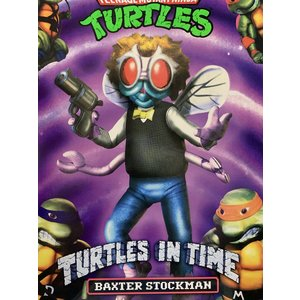 NECA TMNT: Turtles in Time - Ultimate Baxter Stockman 7 inch Action Figure