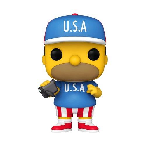FUNKO Pop! Cartoons: The Simpsons - USA Homer