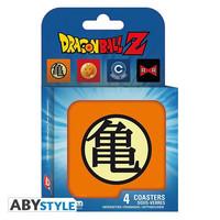 "Dragon Ball - Set 4 Coasters ""Symbols"""
