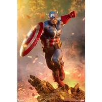 Marvel: Captain America 1:4 Scale Statue