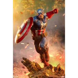 Sideshow Toys Marvel: Captain America 1:4 Scale Statue