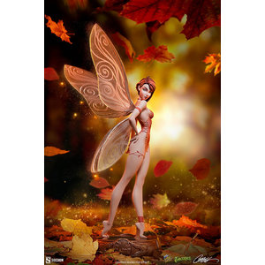 Sideshow Toys J. Scott Cambell: Tinkerbell Fall Variant Statue