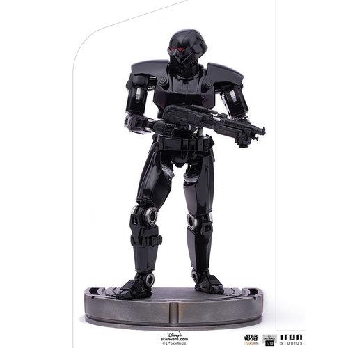 Iron Studios Star Wars: The Mandalorian - Dark Trooper 1:10 Art Scale Statue