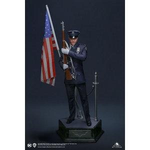 toynami DC Comics: The Dark Knight Trilogy - Joker 1:3 Police Uniform Statue