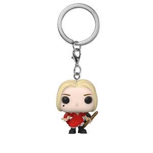 FUNKO Pocket Pop! Keychain: The Suicide Squad - Harley Quinn Damaged Dress