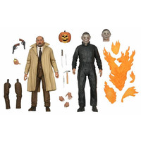 Halloween 2: Ultimate Michael Myers and Dr Loomis 2-pack 7 inch Action Figure